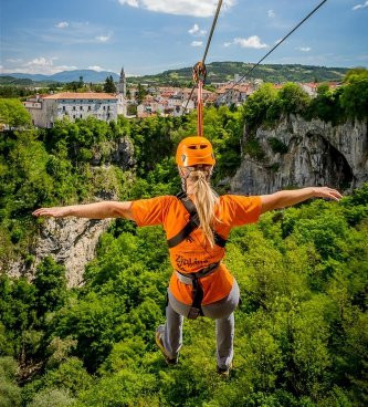 ZIP LINE, Villa Benić - Holiday house in central Istria, Croatia Žminj