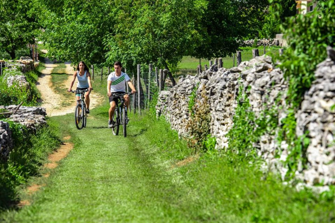 BIKE & RUNNING TRAILS, Villa Benić - Holiday house in central Istria, Croatia Žminj